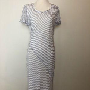Kay Unger New York Lined Silk Long Dress Size 6